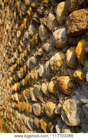 Wall Milan  In Italy Old   Church Concrete Wall   The    Abstract  Background  Stone