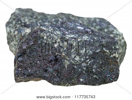 Bornite (peacock Ore) Stone Isolated