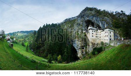 Postojna castle in Slovenia