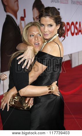 Sandra Bullock and Anne Fletcher at the Los Angeles Premiere of