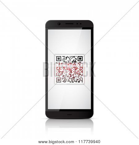 QR code scanning smartphone