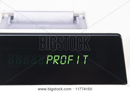 Calculator Display - Profit