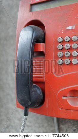 street payphone