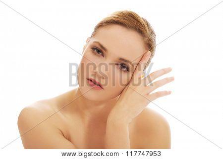Beautiful spa woman.