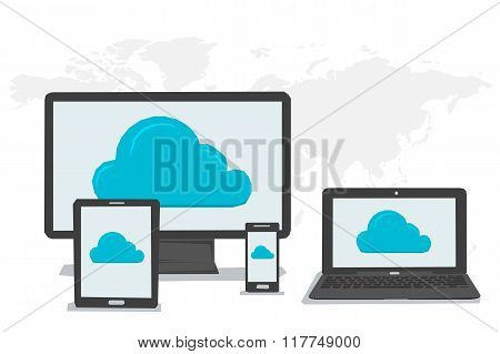General Cloud Storage On Different Devices