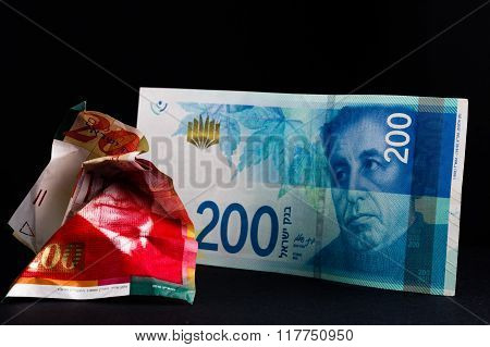 Replacement of NIS 200 banknotes