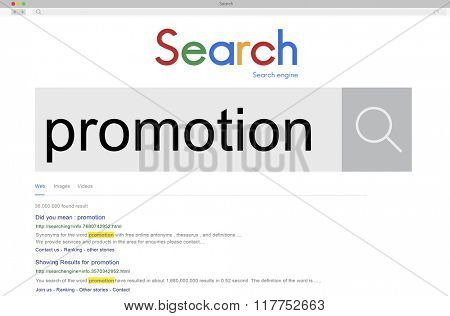 Promotion Advertising Announcement Branding Concept