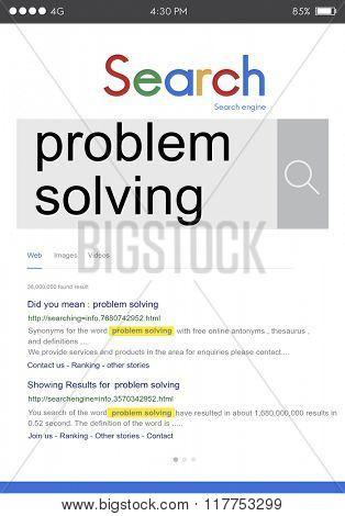 Problem Solving Method Plan Skills Processing Ideas Concept