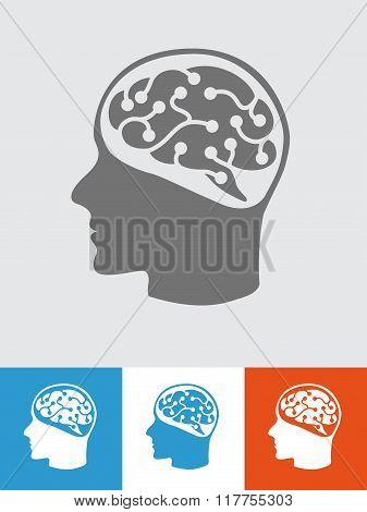 head with tech brain 2