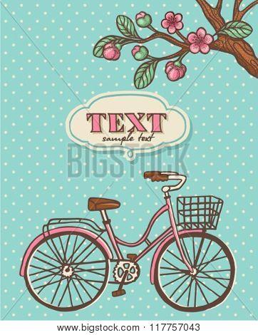 Spring cycling card