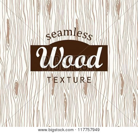 Seamless pattern with wood texture.
