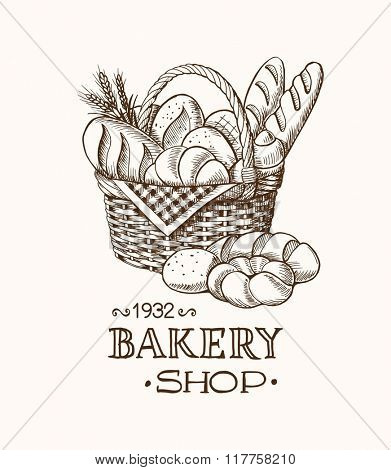 Bakery Basket Template