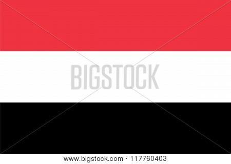 Standard Proportions Fo Yemen Flag