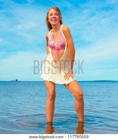 Portrait Bikini Girl