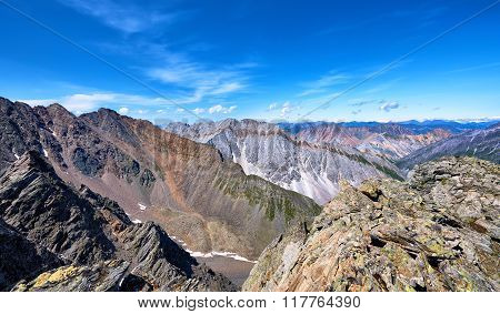 Mountain Ranges Of Eastern Siberia