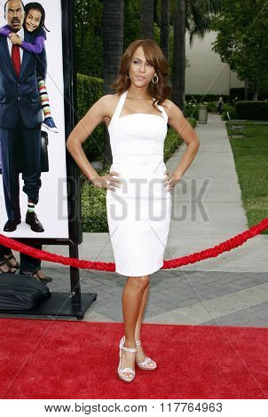 Nicole Ari Parker at the Los Angeles premiere of
