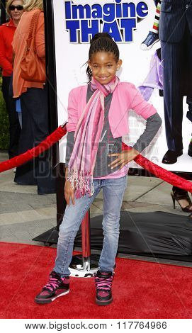 Willow Smith at the Los Angeles Premiere of