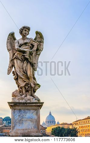 Rome Angel Statue