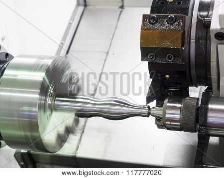 Operator Machining Automotive Part