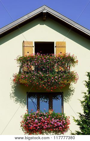 Traditional French Village House Decoration