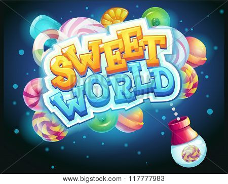 Sweet World Gui Game Window Candy Shooter