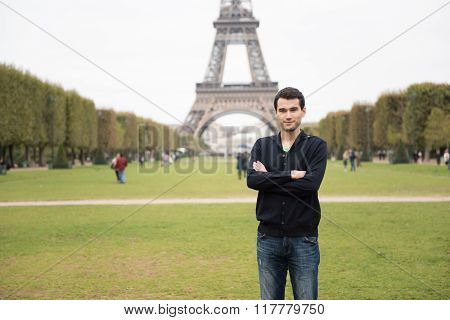 Young Man In Paris