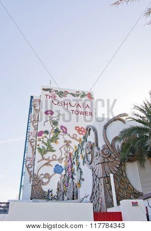 Ushuaia Hotel Floral Facade