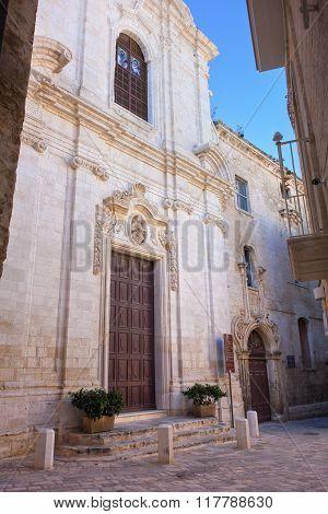 Church of St. Leonardo. Monopoli. Puglia. Italy.