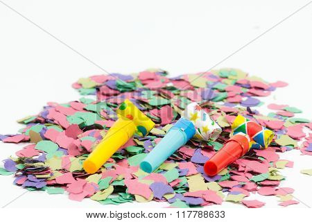 Confetti And Party Blower