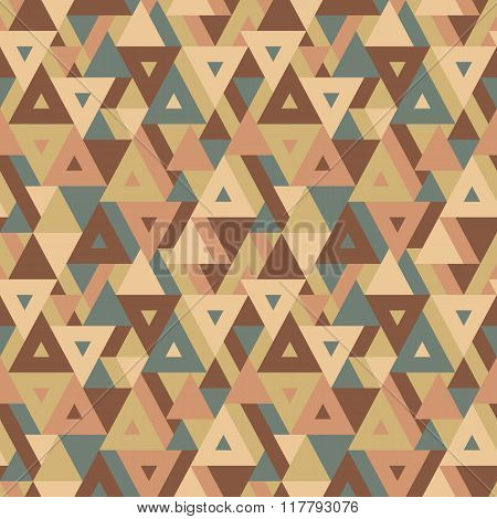 Abstract geometric background - seamless vector pattern for presentation, booklet, website etc.