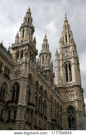 Wiener Rathaus, Austria
