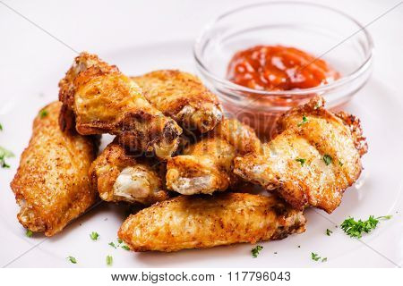 chicken with sauce
