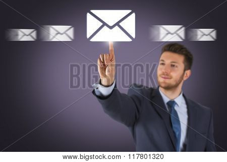 Email Sending on Screen