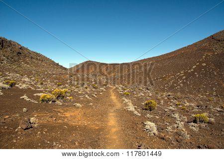 Hike to the Piton de la Fournaise, Reunion