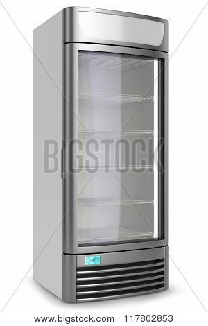 Vertical Showcase Freezer Refrigerator