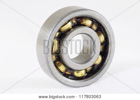 Ball Bearing, Isolated Over White