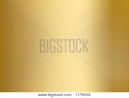 Gold Plaque Horizontal