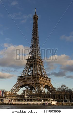 The Eiffel Tower, Paris, France.