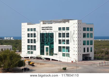 Childrens Library In Muscat, Oman