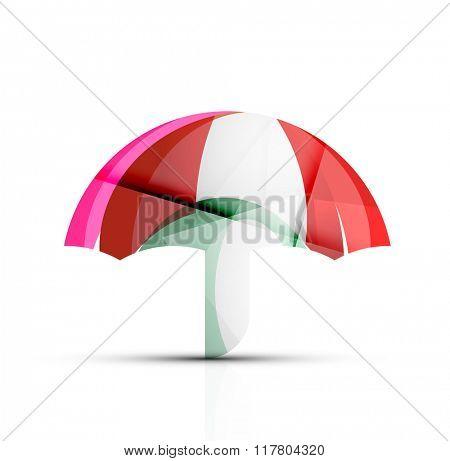 Umbrella protection logo