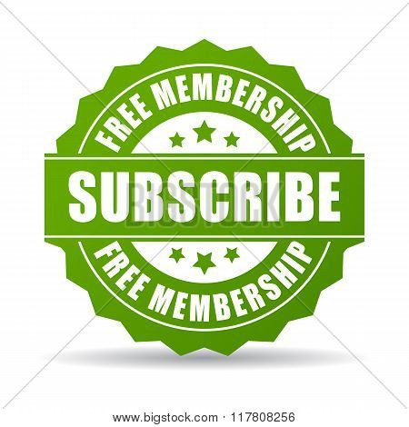 Subscribe for free icon