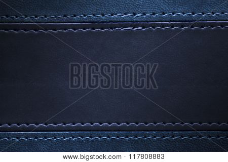 Blue And Navy Blue Leather Texture