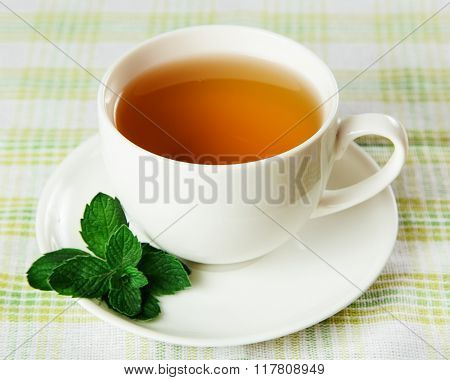 Soothing herbal tea