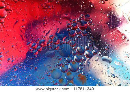 Floating oil
