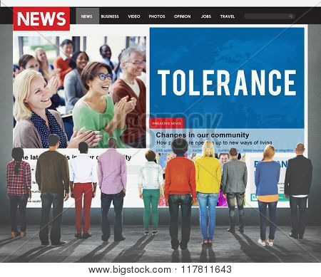 Tolerance Acceptance Perspective Tolerate Toleration Concept