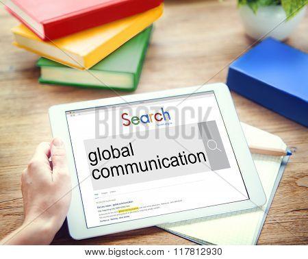 Global Communication Business Community Concept