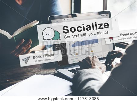 Socialize Community Society Relationship Socialization Concept