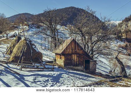 Small Rustic Romanian Farm