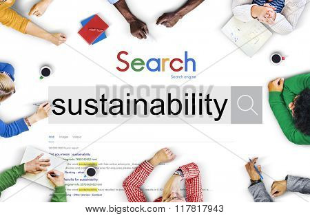 Environmental Conservation Resources Ecology Concept