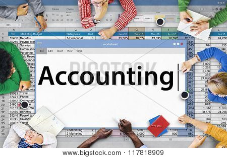 Accounting Finance Money Audit Concept